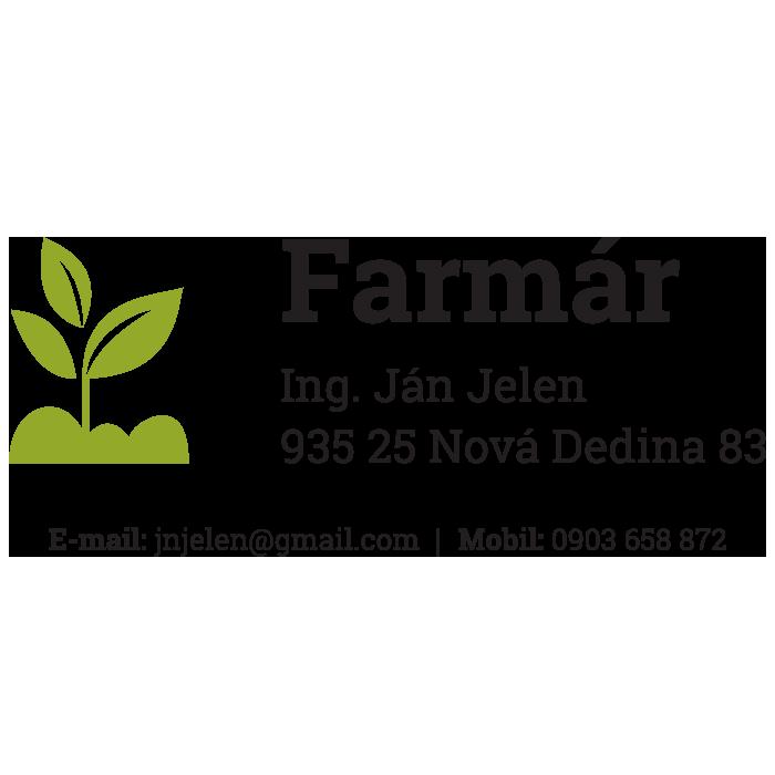 Farmár - Ing. Ján Jelen